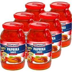 Homann Zigeuner-Sauce 500 ml, 6er Pack