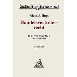 Handelsvertreterrecht  Kommentar - Buch