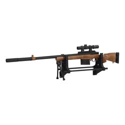 vidaXL Outdoor-Spielzeug vidaXL Gewehrauflage 40×17,5×19 cm Kunststoff, Plastik