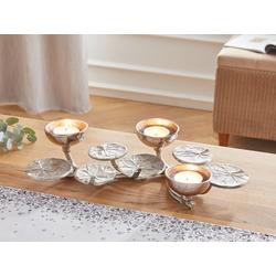 HomeLiving Kerzenhalter Lotus