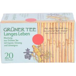 GRÜNER TEE+Ingwer+Ginseng Filterbeutel 20 St.