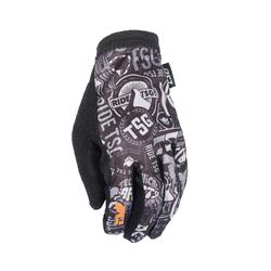 TSG Bike-Handschuhe Slim Stickerbomb
