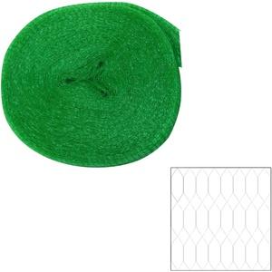 Vogelschutznetz grün 8x8m Laubnetz Teichnetz Gartennetz Pflanzenschutznetz