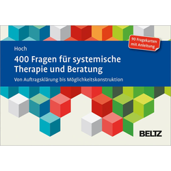 400 Fragen für systemische Therapie und Beratung: eBook von Roman Hoch