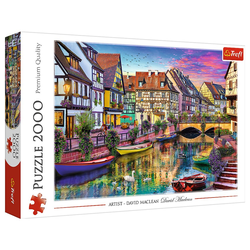 Trefl Puzzle Trefl 27118 Colmar, Frankreich 2000 Teile Puzzle, 2000 Puzzleteile bunt