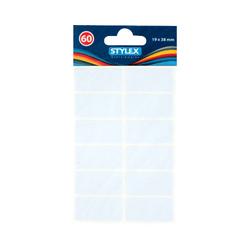 60 Etiketten 19 x 38 mm von Stylex