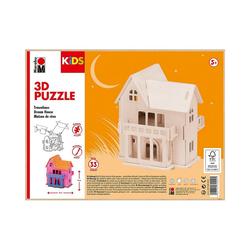 Marabu Holzbaukasten KIDS 3D Puzzle Traumhaus