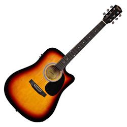 Fender Squier SA-105CE Westerngitarre SB