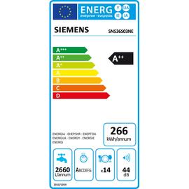 Siemens iQ300 SN536S03NE Geschirrspüler
