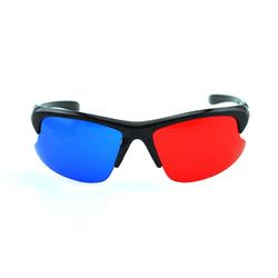 PRECORN 3D Brille rot/cyan (3D-Anaglyphenbrille) hochwertige 3D Brille für 3D PC-Spiele, 3D Bildern, 3D Filme, 3D (z.b. Sky 3D), 3D Projektion, 3D Video Heimkinosystem