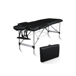FCH Massageliege 2 Zonen Klappbar Massagetisch (Set), Mobile Therapieliege Tragbares Massagebett mit Höhenverstellbaren