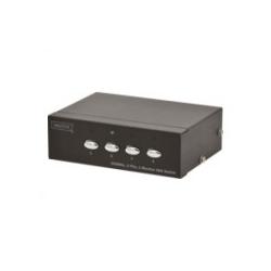 DIGITUS DS-45100 Bildschirm-Switch 4 x VGA Desktop (DS-45100-1)