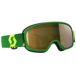 Scott Buzz MX Pro Motocross Kinderbrille, grün-gelb