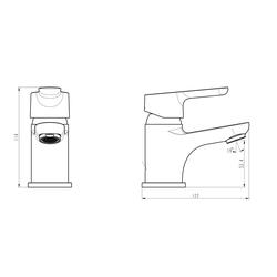 Schütte Waschtischarmatur Vico Mini - Wasserhahn