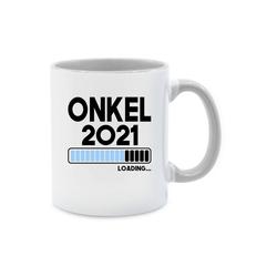 Shirtracer Tasse Onkel loading 2021 - Tasse für Onkel - Tasse zweifarbig - Tassen, du wirst onkel 2020 tasse