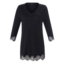 3/4 Arm-Pullover Pullover Emilia Lay schwarz