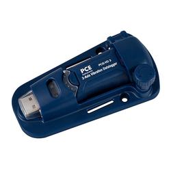 PCE Instruments Werkzeug PCE Datenlogger PCE-VD 3 Schwingungsmessgerät Frequenzanalyse