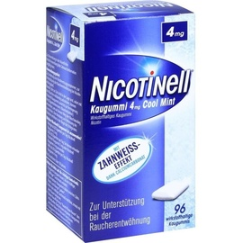 Novartis Nicotinell Cool Mint 4 mg Kaugummi 96 St.