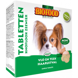 Biofood Knoblauchtabletten Mini - Algen 3 Stück