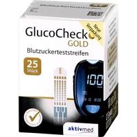 AKTIVMED GMBH GlucoCheck GOLD Blutzuckerteststreifen