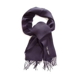 Posh Gear Wollschal Alpaka Schal Foulard 100% Alpakawolle blau