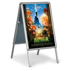 Werbung a-aufsteller - scharfe ecken, 482 x 682 mm
