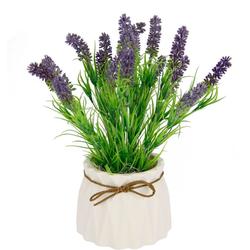 Kunstpflanze Lavendel, I.GE.A., Höhe 27 cm, Im Keramiktopf