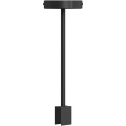 SEGULA Deckenleuchte Deckenleuchte S14d, starre Deckenleuchte, Linienlampen Deckenlampe, S14d Deckenlampe, S14d Deckenleuchte, Minimal Design Fassung S14d, stylische Linienlampen Fassung, Hängeleuchte Metall schwarz