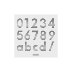 Heibi Briefkasten Heibi Hausnummer MIDI 8 Edelstahl 64478-072