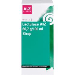 LACTULOSE AbZ 66,7 g/100 ml Sirup 1000 ml