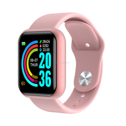 Smartwatch und Sport Band L18 wasserdicht, Monitor in pink