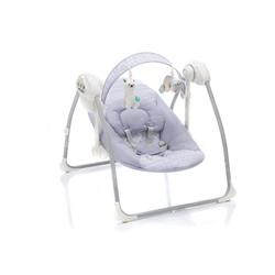 Fillikid Babywippe Flippi,grau, mit Stromadapter