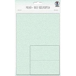 URSUS 3 Menükarten und 12 Tischkarten, mint
