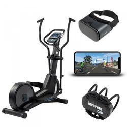 cardiostrong Crosstrainer EX60 mit VR Fitness-App und Headset