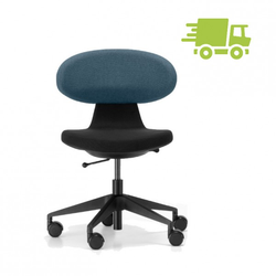 Girsberger SIMPLEX 3D Homeoffice Bürostuhl schwarz-blau