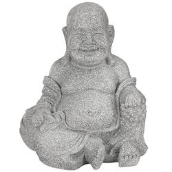 Dehner Dekofigur Dekofigur Buddha, ca. 34 x 40 x 32 cm, Leichtbeton