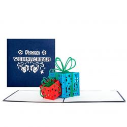 Colognecards Pop-Up Karte Weihnachtsgeschenke