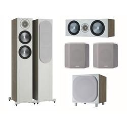 MONITOR AUDIO Bronze 6G Cinema 200 urban grey Lautsprecher-Set 5.1 5.1 Soundsystem (5.1 Heimkino Set)