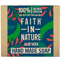 Faith in Nature Aloe Vera Hand Soap Bar 100 g