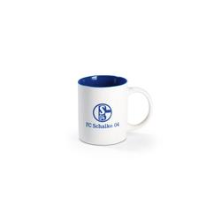 Schalke 04 Becher, Kaffeebecher mit Schalke-Logo