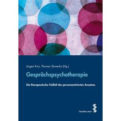 Gesprächspsychotherapie: Buch von