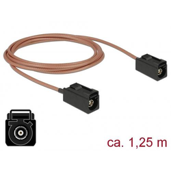 Delock WLAN-Antennen Anschlusskabel [1x Fakra-Buchse - 1x Fakra-Buchse] 1.25m