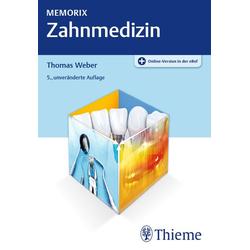 Memorix Zahnmedizin als Buch von Thomas Weber