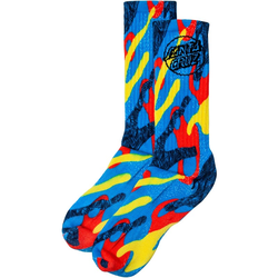Socken SANTA CRUZ - Primary Dot Sock Primary Camo (PRIMARY CAMO) Größe: OS