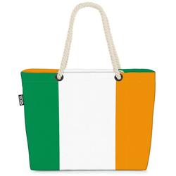 VOID Strandtasche (1-tlg), Irland Flagge EM WM Länderflagge Fahne