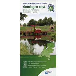 Groningen oost (Groningen / Winschoten / Emden (DU) / Ter Apel) 1:100 000