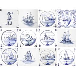 Fliesenaufkleber »maritim«, Fliesenaufkleber, 706800-0 bunt 12x15 cm bunt