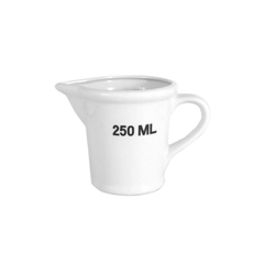 HTI-Living Messbecher Messbecher 250ml Messbecher 250ml, Porzellan, Messbecher
