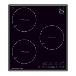 GURARI Induktions-Kochfeld 45 cm, ohne Rahmen, Facetten,Funktionsdisplay, Power Booster, Induktionsherd