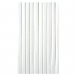 Tischskirting Tischverkleidung selbstklebend, Airlaid, 4m x 72cm weiß